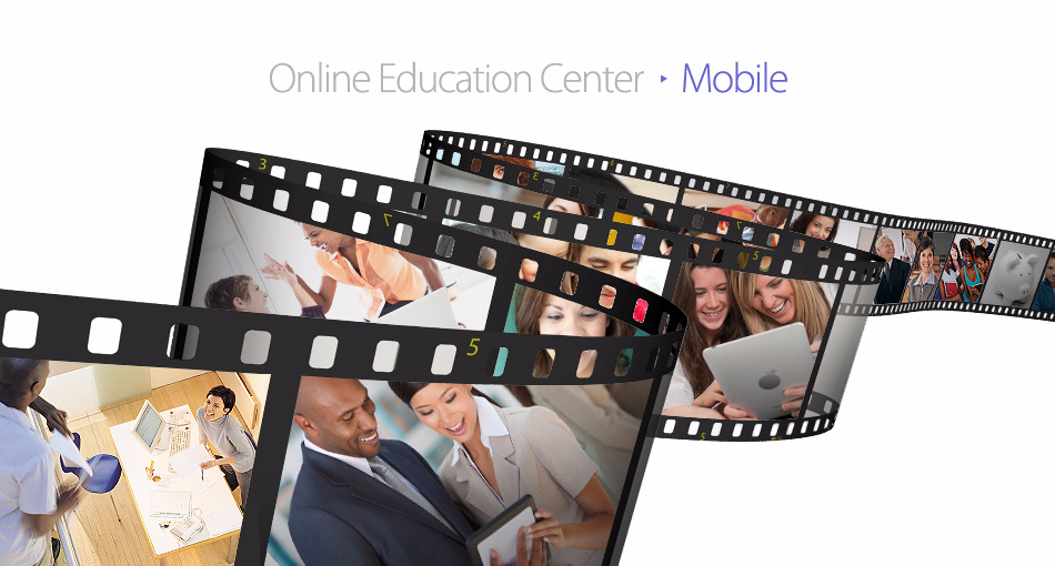 Online Education center mobile